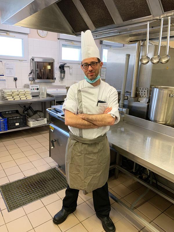 Matthieu CHEVESSON chef cuisinier aux Jardins d'Iroise de Saint Laurent Nouan - Loir et Cher