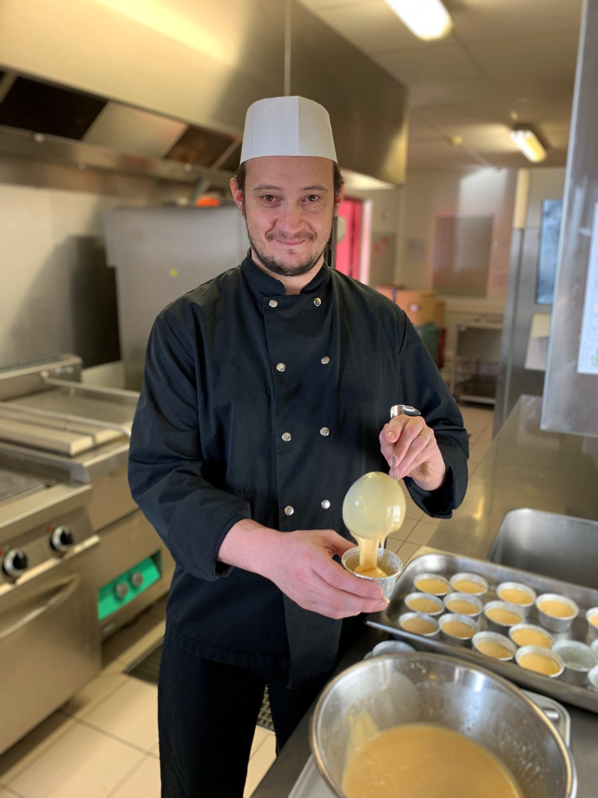 Johnny Caty chef cuisiner les Jardins d'Iroise de Villereau