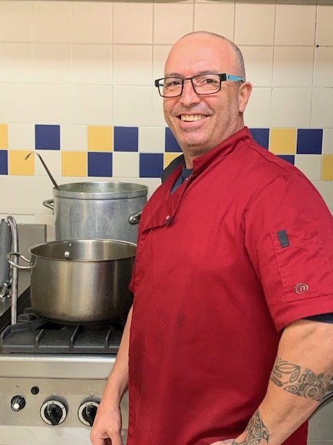 Christophe Cessat chef de cuisine Les Jardins d'Iroise de Gan