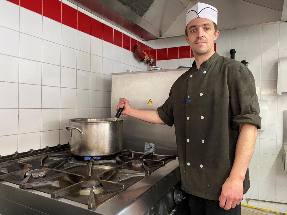Arnaud Imbert chef cuisinier Jardins d'Iroise Maison-Laffitte