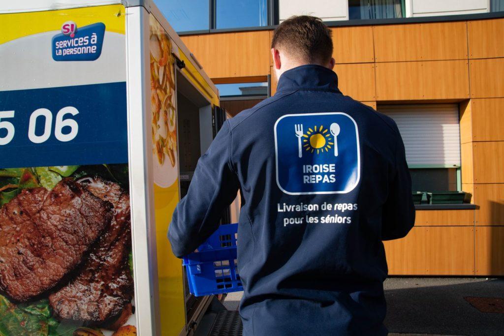 Iroise Repas service de livraison de repas à domicile pour les séniors